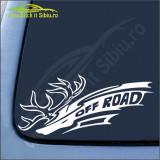 Off Road Model 3 -Stickere Auto-Cod:ESV-128 -Dim  25 cm. x 11 cm.