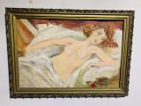 Pictura Nud culcat -, Ulei, Realism