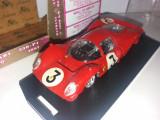 Macheta Ferrari 330-P4 - 1967 scara 1:43 BRUMM