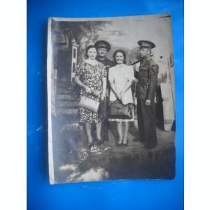 HOPCT 230  E  FOTOGRAFIE VECHE MILITARI ROMANI  -TIP CP