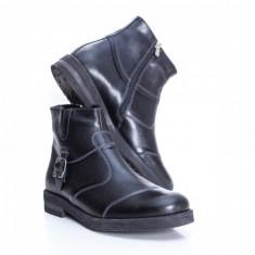 Cizme Piele Teodor negre