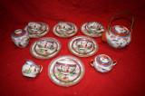 Serviciu portelan pentru ceai, cafea  chinezesc  pt 6 persoane  22 piese