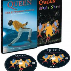 Concert DVD VIDEO QUEEN / Freddie Mercury Live At Wembley AID