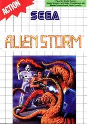 Joc SEGA Master System Alien Storm foto