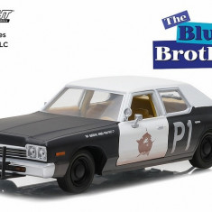 "Blues Brothers (1980) - 1974 Dodge Monaco ""Bluesmobile"" - Hollywood Series 1 - 1:24"