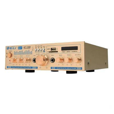 Amplificator bluetooth BT-1288, USB, suport SD, telecomanda foto