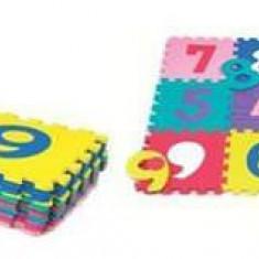 Covoras de joaca cu cifre Puzzle 10 piese