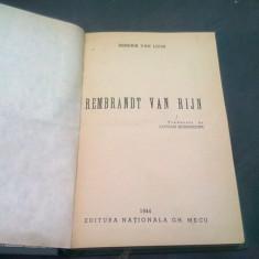 REMBRANDT VAN RIJN - HENDRIK VAN LOON