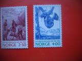 HOPCT TIMBRE MNH 44 CENTENARUL ELECTRICITATII IN NORVEGIA 2  VAL NORVEGIA