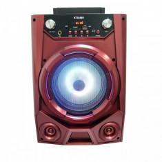Boxa portabila KTS-895, microfon karaoke inclus