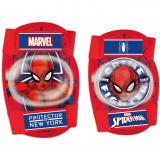Set protectie Cotiere Genunchiere Spiderman Seven SV9063Rosu