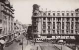 Carte Postala Bucuresti - Calea Victoriei cu Athene Palace, Circulata, Printata