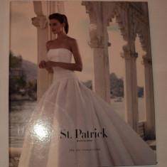 Catalog rochii de mireasa St Patrcick Barcelona 2015, 50 planse 30x39 cm album, Rochii de mireasa printesa