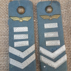 Epoleti de maistru militar de aviatie din perioada RSR