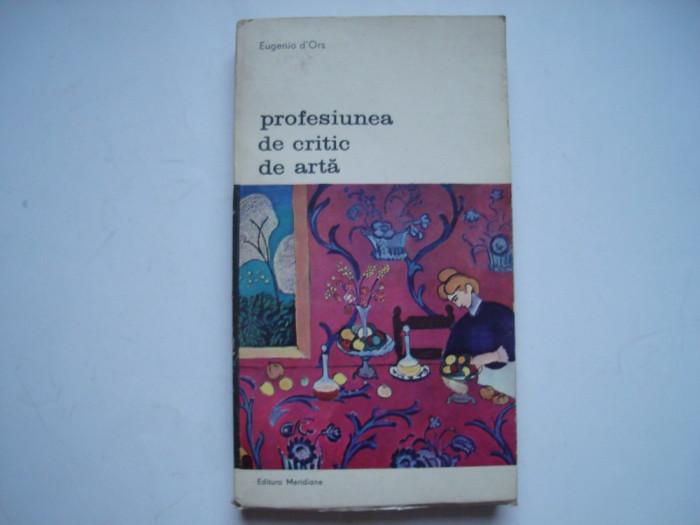 Profesiunea de critic de arta - Eugenio d'Ors