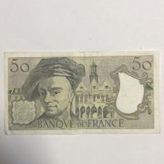 FRANTA 50 FRANCI 1987