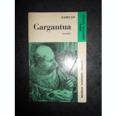 RABELAIS - GARGANTUA. EXTRAITS