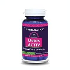 Detox Activ Herbagetica 60cps Cod: 26418