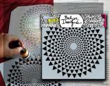 Bible Journaling Stencil - Tri