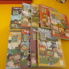 LOT 9 DVD DESENE ANIMATE MAGICIENII CUVINTELOR VOL 1-9 PRET  PENTRU TOT LOTUL