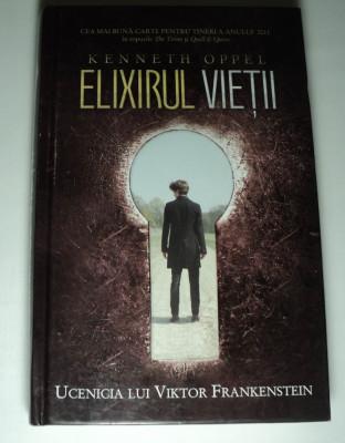 Elixirul vietii, Ucenicia lui Viktor Frankenstein, Kenneth Oppel foto