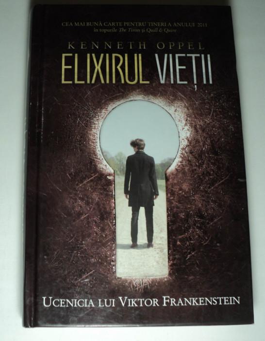 Elixirul vietii, Ucenicia lui Viktor Frankenstein, Kenneth Oppel
