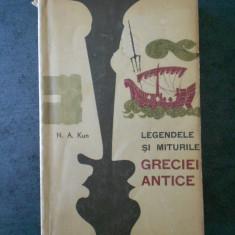 N. A. KUN - LEGENDELE SI MITURILE GRECIEI ANTICE (1964)