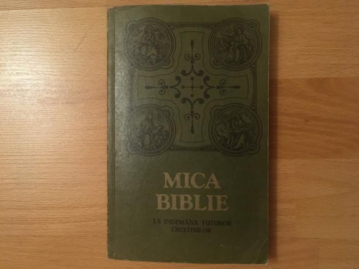 Mica biblie cu icoane la îndemâna tuturor creștinilor/