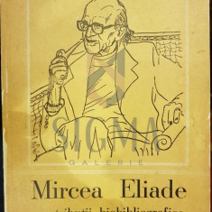 MIRCEA ELIADE, CONTRIBUTII BIOBIBLIOGRAFICE - MIRCEA HANDOCA