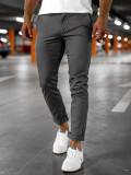 Pantaloni chinos gri bărbați Bolf 1146
