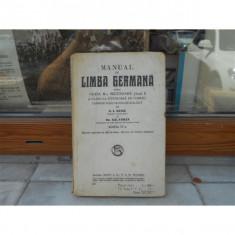 Manual de limba germana , N. I. Russu