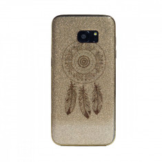 Carcasa fashion glitter Samsung Galaxy S7 Edge Contakt Aurie