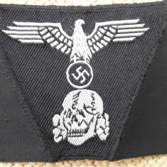 Insemn panzer vultur,cap de moarte pt.capela militara M43 Waffen-SS ,WW2,airsoft