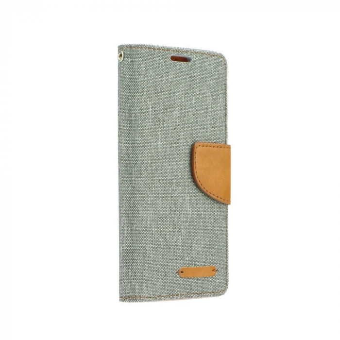 Husa SAMSUNG Galaxy S6 Edge - Canvas Book (Gri)