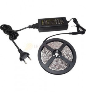 KIT BANDA LED ALB CALD 14.4W IP20 12V - 5 METRI