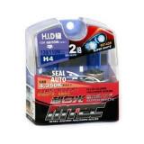 SET 2 becuri auto H4 MTEC super white – xenon efect