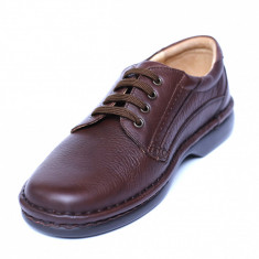 Pantofi barbati din piele naturala, Cayen, Gitanos, Maro, 39 EU