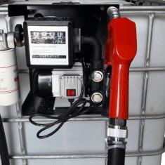 bazin rezervor cu pompa de motorina