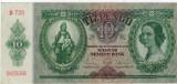 Bancnote Ungaria - 10 Pengo 1936