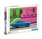 Cumpara ieftin Puzzle Masina albastra, 500 piese, Clementoni