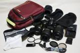 Vand Nikon D5100 + 3 obiective + Bonus