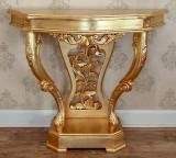 Masa-Consola Victorian Hall Gold