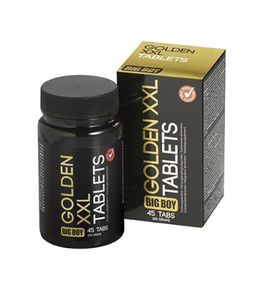 Pastile marire penis Big Boy - Golden XXL - 45 tablete foto