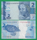 = BRAZILIA - 2 REAIS - 2010 - UNC   =