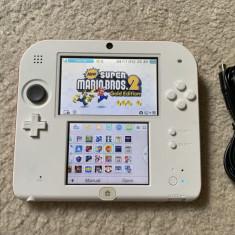 Nintendo 2DS MODAT card 16GB cu jocuri pe el : MARIO 4 x ZELDA POKEMON X Y LUIGI