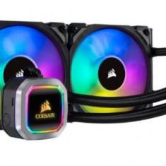 Sistem de racire cu lichid Corsair Hydro H100i, RGB Platinum, 2 x 120mm