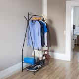 Suport pentru haine si pantofi SANDRA-negru