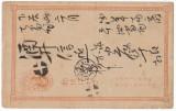 Japan - Postal History Old postal card D.127