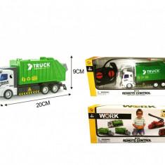 Camion de gunoi cu telecomanda (Masinuta RC)