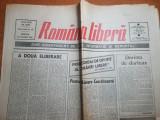 romania libera 17 ianuarie 1990-interviu doibna cornea ,art. octavian paler